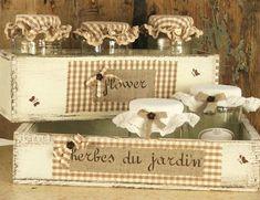 www.ateliershabbychic.it casssette in legno di recupero fatto a mano con passione: