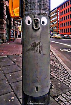 Watch Your Face  #Streetart