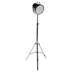 Stage Floor Lamp Chrome Finish_Masters