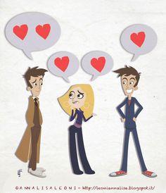 Doctor Who Rose Tyler Tenth GIF ------> http://leoniannalisa.blogspot.it/2012/08/ultimamente-riesco-solo-lavorare-e.html  by Annalisa Leoni #doctorwho #RoseTyler #Tenthdoctor