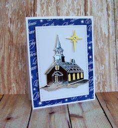 Ann Greenspan's Crafts: Large church cards