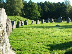 Viking Graveyard Sweden