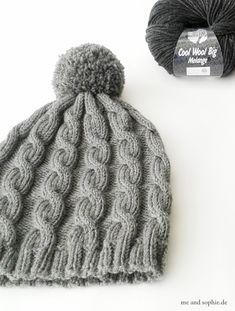 Baby Knitting Patterns Yarn simple knit hat with cable pattern # cap . Baby Knitting Patterns, Crochet Baby, Knit Crochet, Crochet Stitch, Single Crochet, Free Crochet, Knitting Projects, Knitted Hats, Crochet Stitches