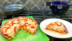 Gourmet Girl Cooks: Easy Deep Dish Pizza - Low Carb, Grain Free, Gluten Free
