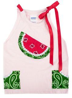 Watermelon Cutie Tank #diy #fashion #watermelon