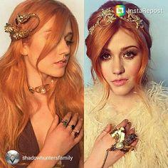 Stunning pics of Kat/Clary kinda reminding me of the seelie queen xx