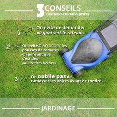 C'est le moment de vérifier que votre légendaire main verte ne vous fera pas défaut... #logement #jardinage #service