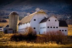 Beautiful barn in Park City Utah.