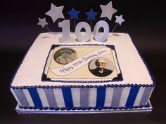 49 best 100th Birthday Cakes you made a century. images ...