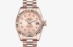 Rolex Lady-Datejust Oyster, 26 mm, Everose gold