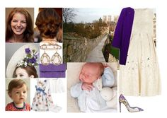 """Anne Winter (and her daughter Katharina) at the christening of her nephew and godson Julian David Miller"" by charlottedebora ❤ liked on Polyvore featuring Yvonne, Dorothy Perkins, Dolce&Gabbana, Thierry Mugler, Hoorsenbuhs, Burberry and Monsoon"