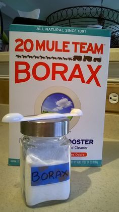 Borax — The Inexpensive Detox, Arthritis, Osteoporosis And Mycoplasma Cure--Fantastic Article--MUST READ