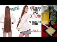 Si NO quieres el cabello largo EXTREMO no hagas esta receta! te crecerá demasiado - YouTube
