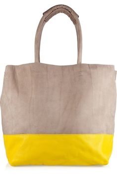 Grey and yellow combination. My Style Bags a94b7ddae4427