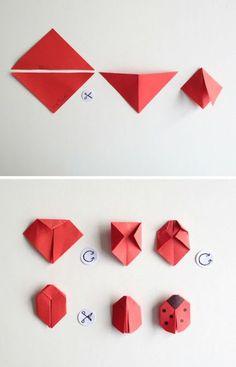 origami-animaux-tuto-facile-pour-fabriquer-une-coccinelle-en-paper-bricolage-papier-facile