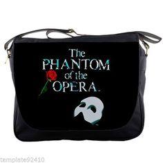 Phantom Of The Opera Design Custom Messenger  Bag
