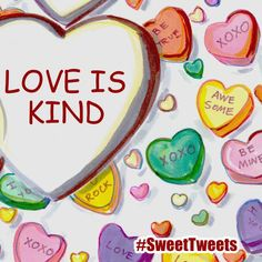 """Happy Valentine's Day! What loving gesture or saying do you have to offer a friend or loved one? How about """"You're Amazing"""" or """"The Best is Yet To Come"""" #SweetTweets #Sharethelove #RandomPostsofKindness #SweetTweets https://buff.ly/2ChtrVv?utm_content=buffera14e0&utm_medium=social&utm_source=pinterest.com&utm_campaign=buffer"""