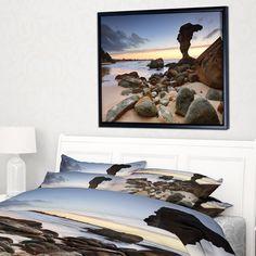 Designart 'Noraville Central Coast Australia' Modern Seashore Framed Canvas Art Framed Canvas Prints, Canvas Frame, Thing 1, Coast Australia, Central Coast, Floating Frame, Wall Spaces, Rustic Furniture, Online Art Gallery