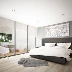 Providencia: Recámaras de estilo moderno por Punto Negro Arquitectura