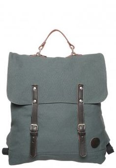 Enter - Tagesrucksack - army green/dark brown