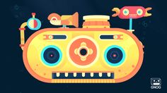 GNOG is a wondrous journey through a universe of visually stunning and playfully interactive monster heads. A KO-OP game, with support from Double Fine Productions.