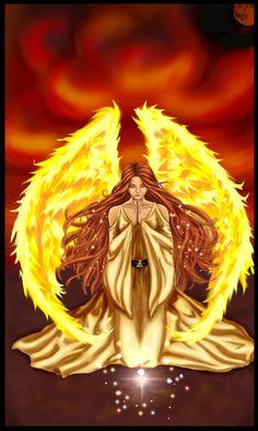 Kabbalah Angel Ariel by LittleBlackGoddess