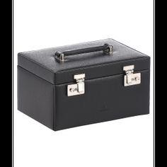 Cutie 20 ceasuri, din piele naturala - Windrose Suitcase, Wind Rose, Briefcase
