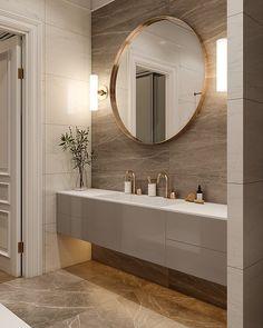 Стиль | ВКонтакте Modern Luxury Bathroom, Bathroom Design Luxury, Bathroom Layout, Modern Bathroom Design, Washroom Design, Toilet Design, Home Room Design, Home Interior Design, Washbasin Design