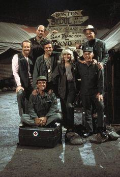 """""""M.A.S.H."""" - Mike Farrell, Jamie Farr, Alan Alda, Loretta Swit, Harry Morgan, David Ogden Stiers, William Christopher (Second TV Cast)"""