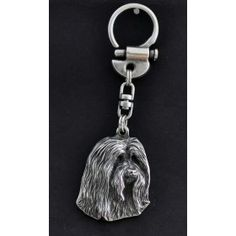 Magnificent standard handcrafted product from group Keyrings related dog breed Bearded CollieThese key rings are not produced anywhere else in the world. Keyring- Gilded with gold trial Perfect gift remarkable precision of execution- maste Dog Lover Gifts, Dog Lovers, Bearded Collie, Collie Dog, Best Artist, Dog Supplies, Bull Terrier, Statue, Handmade Gifts