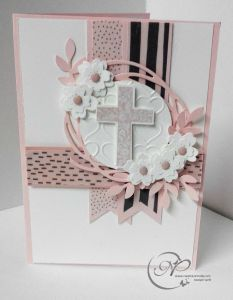 Swirly Baptism – Connolly Creations better know as Nanny Stamp. Confirmation Cards, Baptism Cards, Baby Baptism, Christening Card, Pink Ribbon Day, Sympathy Cards, Greeting Cards, First Communion Cards, Baptism Centerpieces