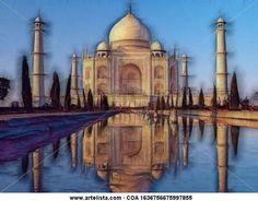 Esa Maravilla del Mundo llamada Taj Mahal y emblema del Amor Eterno