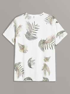 White Casual Short Sleeve Cotton Blends Tropical Fabric has some stretch Summer Men T-Shirts & Tanks, size features are:Bust: ,Length: Regular ,Sleeve Length:Short Sleeve White Casual, Men Casual, Casual Winter, Tropical Fabric, Tank Shirt, Printed Tees, Womens Slippers, Casual Dresses, Casual Shorts