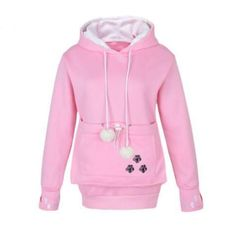 Pawsome Cat Hoodie With Pouch - 3 Colors
