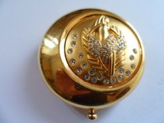 beautiful estee lauder VIRGO zodiac compact--I love to collect these old compacts!