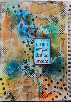 art journal page by Christy Butters