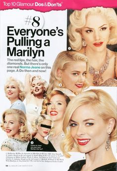 Everyone's Pulling a Marilyn