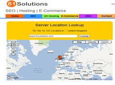 Find server location of a website