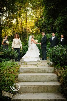 Fairy tale wedding at Homewood in historic Asheville.
