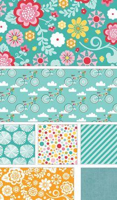 Fancy Free by Lori Whitlock for Riley Blake Designs