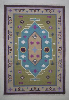 bohemian cotton dhurrie rug 4x6 tribal rug navajo rug kilim rug moroccan rug rug rug