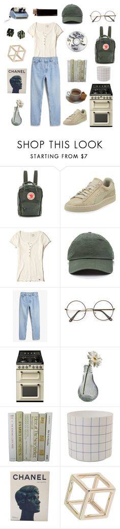 """afternoons"" by ellafelsing ❤ liked on Polyvore featuring Fjällräven, Puma, Hollister Co., Monki, Smeg, Dot & Bo, &klevering, Chanel, Topshop and Polaroid"