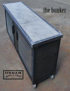 The Bunker by urbanwoodandsteel on Etsy, $1675.00