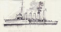Crucero Helgoland 1916