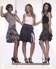 Destiny's Child for Interview Magazine, August 2001