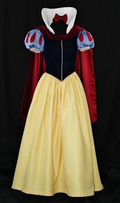 Adult Snow White Classic Costume Custom Made by NeverbugCreations Way out of our price range but UNBELIEVABLY gorgeous @KD Eustaquio Converse