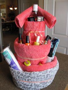 Beauty Towel Cake