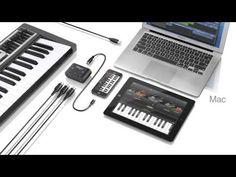 IK Multimedia iRig MIDI 2 iPhone、iPad、iPod touch対応のLightningケーブルとMac/PC対応USBケーブルの両方が同梱されたMIDIインターフェース。:フォーカルポイント株式会社