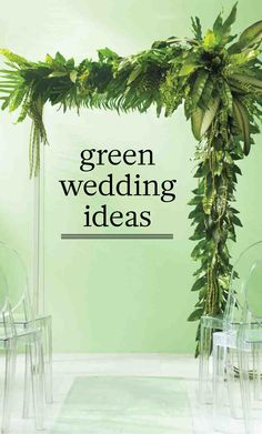 Green Wedding Ideas for Shades From Emerald to Jade | Martha Stewart Weddings - Emerald is the color of the moment in both fashion and home décor, but it's always been a classic to us. We've paired it with jade for fresh wedding ideas that'll have you reconsidering what it means to go green.