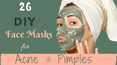 Here are 26 DIY Face Masks for Acne that Actually work on reducing pimples. These Homemade Face Masks are Worth a Try to Get Rid of Acne.